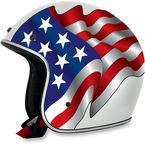 White FX-76 Freedom Helmet - 0104-1634