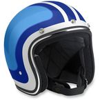 Blue/Light Blue Bonanza Fury Helmet - BH-WBB-FUR-LG
