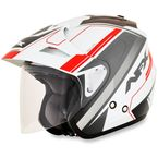 Multi-Red FX-50 Signal Helmet - 0104-2033