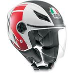 FX White/Red Blade Helmet - 042152A0006009