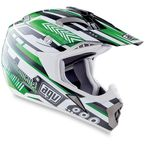 Black/Green MT-X Helmet - 01102217