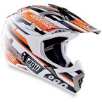 Black/Orange MT-X Helmet - 01102223