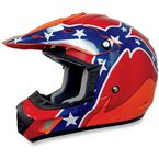 Orange Rebel FX-17 Helmet - 0110-2389