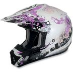 Youth Pink Stunt FX-17 Helmet - 0111-0723