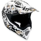 White/Black AX-8 Helmet - 01102650