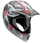 White/Red MTX Evolution Helmet - 902152A0010009