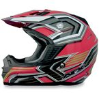 Red Multi FX19 Helmet - 0110-3092