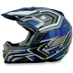 Blue Multi FX19 Helmet - 0110-3097