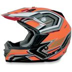 Orange Multi FX 19 Helmet - 0110-3110