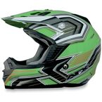 Green Multi FX 19 Helmet - 0110-3116