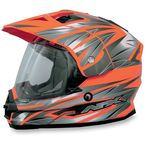 Safety Orange Multi FX39 Dual Sport Helmet - 0110-3145