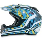 Black/Yellow FX-19 Vibe Helmet - 0110-3277