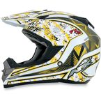 Yellow FX-19 Vibe Helmet - 0110-3307