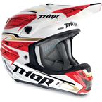 Red Verge Boxed Helmet - 0110-3326
