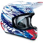 Blue Verge Twist Helmet - 0110-3338