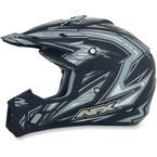 Flat Black Multi FX-17 Factor Helmet - 0110-3441