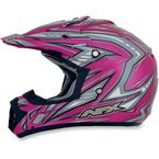 Youth Fuchsia Multi FX-17Y Helmet - 0111-0906
