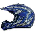 Blue Multi FX-17 Factor Helmet - 0110-3475