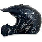 Black Multi FX-17 Gear Helmet - 0110-3589