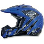 Blue Multi FX-17 Gear Helmet - 0110-3609