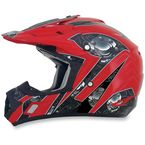 Red Multi FX-17 Gear Helmet - 0110-3616