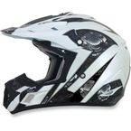 Pearl White Multi FX-17 Gear Helmet - 0110-3622