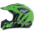 Green Multi FX-17 Gear Helmet - 0110-3631