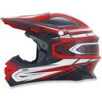 Red Multi FX-21 Helmet - 0110-3709