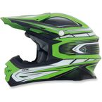 Green Multi FX-21 Helmet - 0110-3721