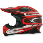 Orange Multi FX-21 Helmet - 0110-3733
