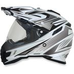 Pearl White Multi FX-41DS Helmet - 0110-3943