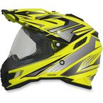 Hi-Vis Yellow Multi FX-41DS Helmet - 0110-3949