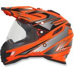 Safety Orange Multi FX-41DS Helmet - 0110-3957