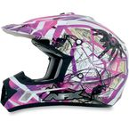 Youth Fuchsia FX-17Y Trap Helmet - 0111-0853