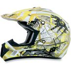 Youth Yellow FX-17Y Trap Helmet - 0111-0862