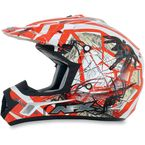 Youth Orange FX-17Y Trap Helmet - 0111-0865