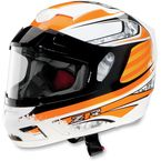 Orange Venom Solstice Snow Helmet - 0121-0402