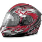 Red Multi FX-90S Snow Helmet - 01210451
