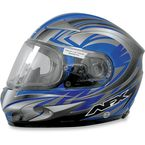 Blue Multi FX-90S Snow Helmet - 0121-0454