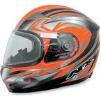 Safety Orange Milti FX-90S Snow Helmet - 01210473