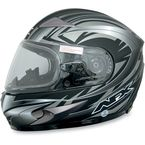 Multi Flat Black FX-90S Snow Helmet - 0121-0485