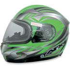 Multi Green FX-90S Snow Helmet - 0121-0496