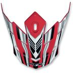 Red Multi Visor for AFX Helmet - 0132-0661