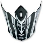 Flat Black Multi Visor for AFX Helmet - 0132-0662