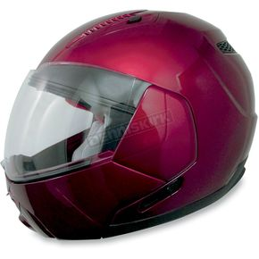 AFX Wine Red FX-140 Modular Helmet - 0100-0992