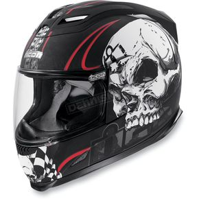 Icon Black Airframe Death or Glory Helmet - 0101-3671