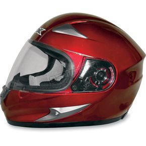 AFX FX-90 Wine Red Helmet - 0101-4012