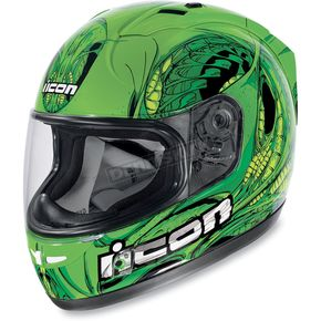 Icon Green Alliance SSR Speedfreak Helmet - 01014171