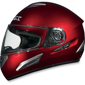 AFX Wine Red FX-100 Helmet - 01014445