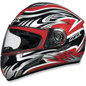 AFX Red Multi FX-100 Helmet - 0101-4488